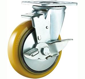 Swivel side lock PU