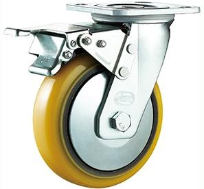 Swivel total lock PU