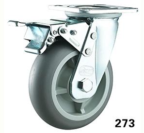 Swivel total lock TPR