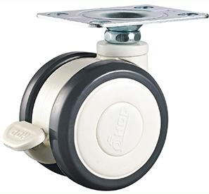 Swivel wheel lock PU