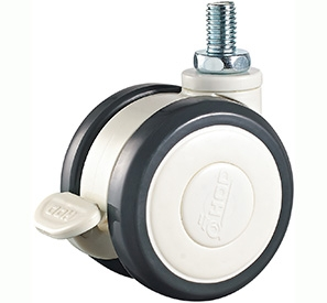 Threaded wheel lock PU